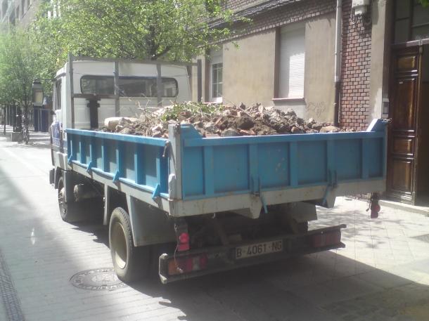 retirada de escombros en León