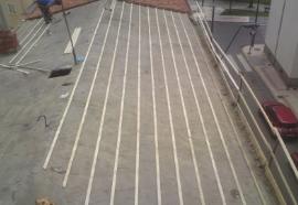 tejados de hormigón
