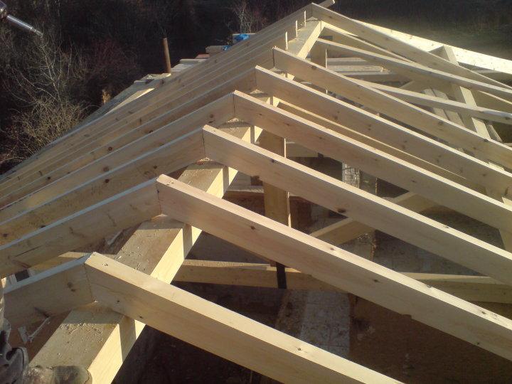 Tejados le n reformas arias for Crear una cubierta de madera
