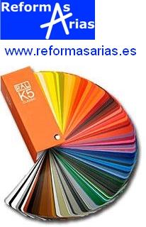Carte  RAL de colores